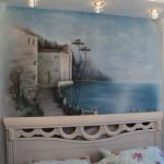 спальня (художественная роспись)