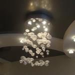 гостиная  (фрагмент интерьера). потолок