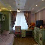 детская комната, реализация интерьера
