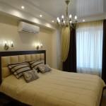 спальня, реализация интерьера
