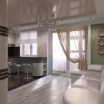 проект кухни и гостиной